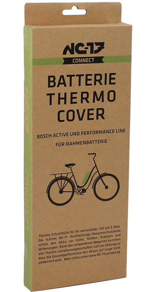 NC-17 Thermo Cover für Bosch Rahmen Akku ab 2014